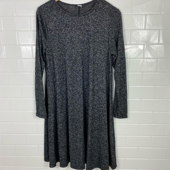 OLD NAVY Charcoal Sweater Dress